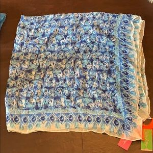 Lilly Pulitzer On The Square Scarf Get Trunky